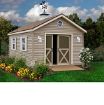 South Dakota 12'x12' Best Barns Wood Shed Barn Kit