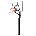 Goalsetter In-Ground Basketball Internal All-American 60 in Glass Goal
