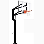 Goalsetter In-Ground Basketball Internal All-American 60 in. Acrylic