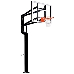 Goalsetter In-Ground Basketball Internal Captain 60 in Acrylic Hoop