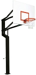 Goalsetter Basketball Hoop Internal Captain 60 in. Steel Backboard