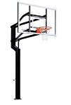 Goalsetter In-Ground Basketball Hoop Internal MVP 72 in. Glass Goal