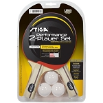 Stiga T1362 Performance 2-Player Table Tennis Paddle Set