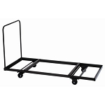 Correll Folding Table Dolly - T3096 30 in x 96 in Flat Stacking Cart