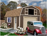 Tahoe 12'x20' Best Barns Wood Shed Barn Kit