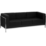 Office Furniture Hercules Black Leather Sofa ZB-IMAG-SOFA-GG