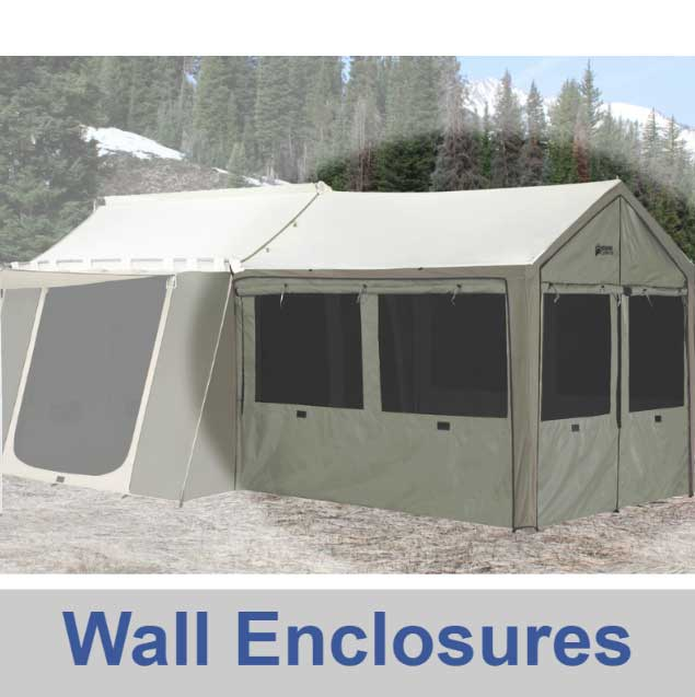 Kodiak Canvas Tents - Flex-Bow and Cabin Designs - Ground