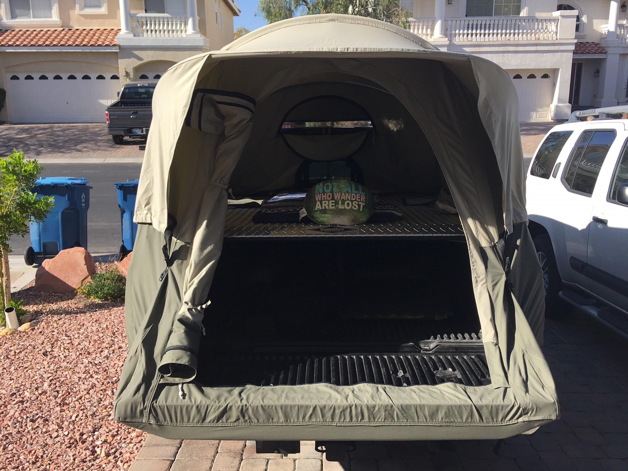 Kodiak Canvas Truck Tent Instructions