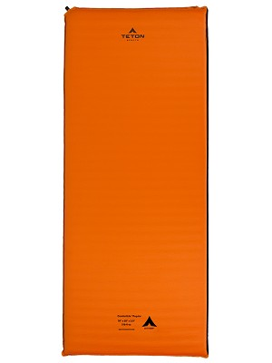 TETON Sports 1041A ComfortLite Regular Orange Self Inflating Pad