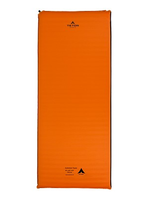 TETON Sports 1043 ComfortLite XXL Orange Self Inflating Pad