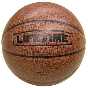 Lifetime 1052936 Composite Leather Basketball Ball