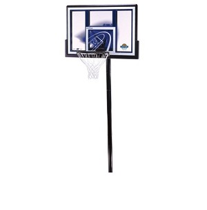 Lifetime 1079 48 Fusion Backboard ground Adjustable Basketball Hoop