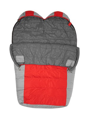 TETON Sports Tracker Double-Wide +5F UltraLight Sleeping Bag with Body Mapping