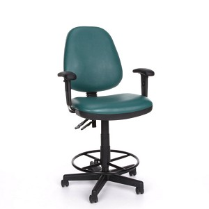 OFM Office Chairs 119-Vam-Aa-Dk Vinyl Posture Adjustable Task Chair