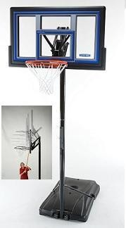 SO Lifetime 1466 Courtside 50 Quick Adjust II Portable Basketball Hoop