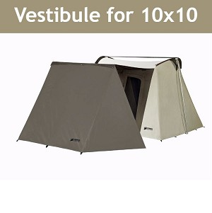 Canvas Vestibule Wing 1601 for Kodiak 10-ft Canvas Tents