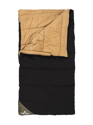 TETON Sports 164G Thick Canvas Camper -10F Sleeping Bag