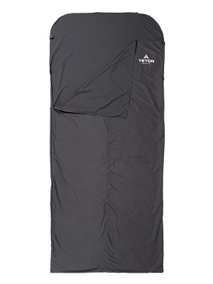 TETON Sports 179-C Grey Cotton XL 87 In x 36 In Sleeping Bag Liner