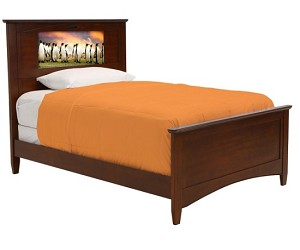 Lifetime 20289 Canterbury Full (chestnut) Lightheaded Bed *NEW*