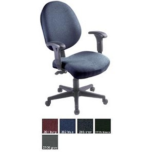 Ofm 242 24 Hour Computer Multi-Shift Adjustable Task Chair