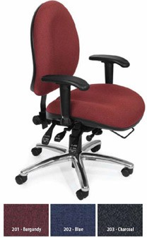 Ofm 247 Big & Tall Comfy Seat Series Ergonomic Chair