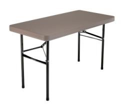 SO 22946 Lifetime 2946 4 Putty Home Folding Lightweight Table
