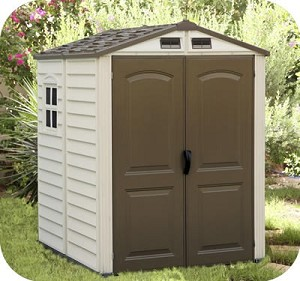 Duramax StoreMate Vinyl Shed with Floor