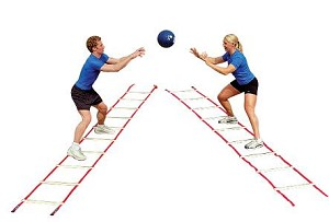 Agility Ladders - 30650 Power Systems Footwork Pro Agility Ladder
