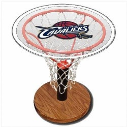 NBA Basketball Acrylic Sports Table with Cleveland Cavaliers Logo