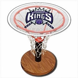 NBA Basketball Acrylic Sports Table with Sacramento Kings Logo
