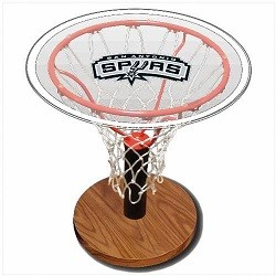 NBA Basketball Acrylic Sports Table with San Antonio Spurs Logo