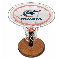 NBA Basketball Acrylic Sports Table with Washington Wizards Logo