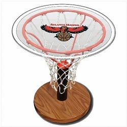 NBA Basketball Acrylic Sports Table with Atlanta Hawks Logo