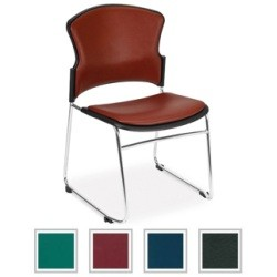 Stacking Chairs - OFM 310-Vam Anti-Microbial Vinyl Seat Stack Chair