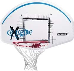 SO Lifetime 3243 44 In Basketball Backboard & Rim Combo