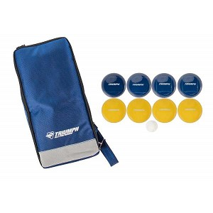Triumph Sports 35-7315-2 All Pro 100mm Bocce Set with Sling Sport Bag