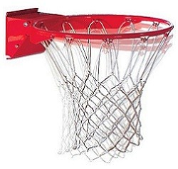 Spalding Basketball Accessories 7803SP Positive Lock Breakaway Rim