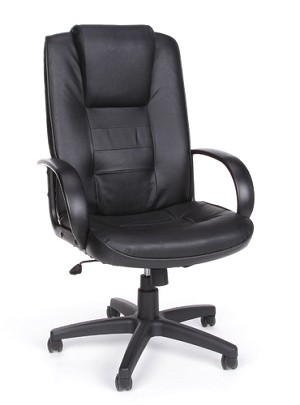 OFM Leather Office Chair 500-L High Back Executive Conference Chair