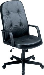 Ofm 504-L Executive/Conference Adjustable Leather Chair