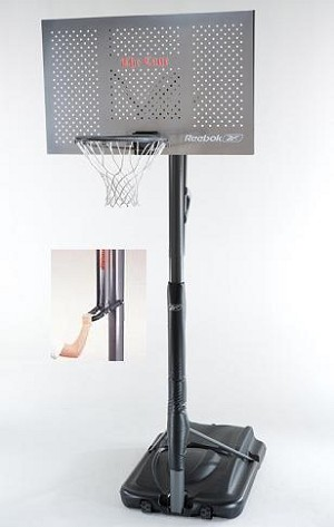 Reebok Portable Basketball System 51549 48 Inch Backboard Goal
