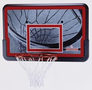SO Lifetime 53604 Spalding Basketball  44 In Backboard and Rim Combo