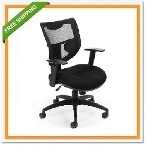 OFM Parker Ridge Series Executive Mesh Chair