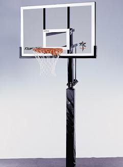 SO Reebok 59953 54 In BB In-Ground Hoop Adjustable Basketball  System