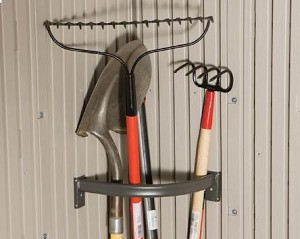Lifetime Outdoor Sheds Accessories Tool Corral For 8/11' Storage Sheds