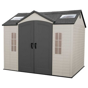 Lifetime Garden Shed 60020A 10 x 8 Side Entry Outdoor Storage Shed