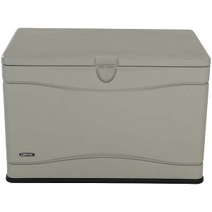 Lifetime 60059 80 Gallon Heavy Duty Outdoor Storage Deck Box