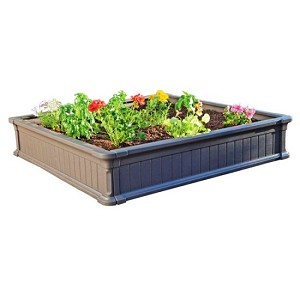 Lifetime Raised Garden 60069 4-Foot Size Package of 3 Beds