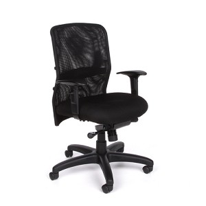 Ofm 610 Airflo Adjustable Conference Fabric Chair