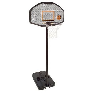 Spalding 44-Inch Plastic Portable Basketball Hoop (Model 61259)