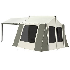 LOCAL PICKUP PRICE ONLY - Kodiak Canvas Tent 6133 6 Person 9 x 12 ft. with Deluxe Awning Canopy